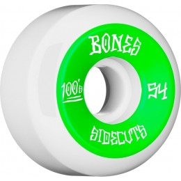 Bones 100´s #11 V5 54mm white Ruedas de skateboard