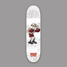 Hydroponic Mortadelo y Filemón Boxer 8,0'' tabla de skate