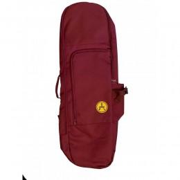 Arrow skate bag burgundy mochila porta skateboard