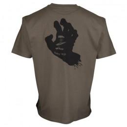 Santa Cruz Contra Hand Mono black washed 2021 camiseta