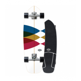 """Carver Triton Spectral cx-wide-raw-30"""" surfskate Completo"""