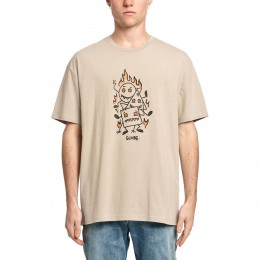 Globe Appleyard Stacker cashew 2021 camiseta
