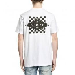 Globe Check out white 2021 camiseta