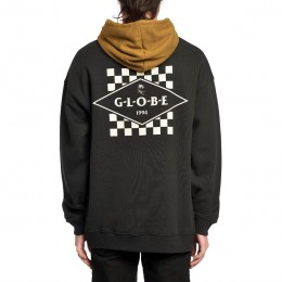 Globe Check out washed black 2021 sudadera
