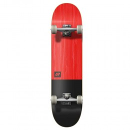 """Hydroponic Clean black/red 8"""" skateboard completo"""