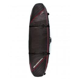 "Ocean & Earth One Double Coffin Shortboard black red 6.0"" funda surf"