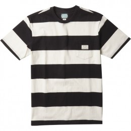 Vissla Creators Block stripe eco pocket black 2021 camiseta