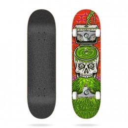 Cruzade skull swirl 8.0'' Skate completo