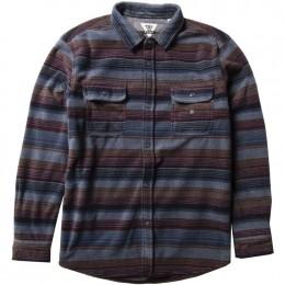Vissla Eco-Zy polar flannel dark denim 2022 camisa
