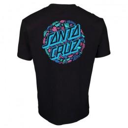 Santa Cruz Foliage Dot black 2022 camiseta