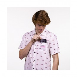 Hydroponic Pink dots white 2021 camisa