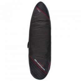 """Ocean & Earth One Double Compact Fish Cover black red 6.8"""" funda surf"""