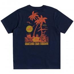 Rvca Bliss moody blue 2021 camiseta