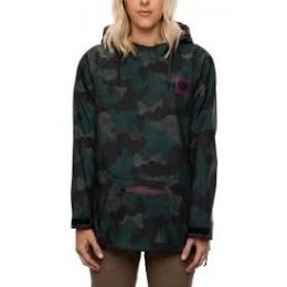 686 Waterproof hoody dark spruce 2021 chaqueta de snowboard de mujer