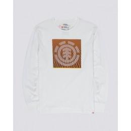 Element Dunes white 2020 camiseta de manga larga