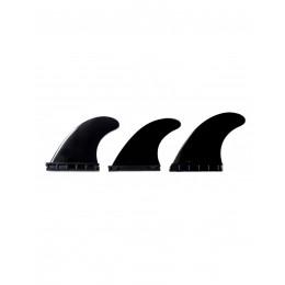 Nomadas Trio E5 Future Eurofin black quillas de surf