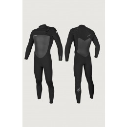 O´neill Epic 4/3 chest zip full black 2021 neopreno