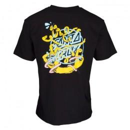 Santa Cruz Ermsy Twisted Hand black 2022 camiseta