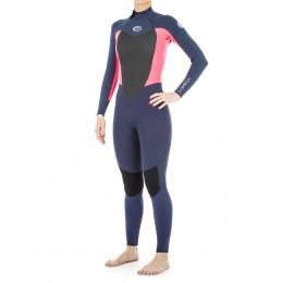 Rip Curl Omega 3/2 mm back zip pink 2020 traje de neopreno de mujer