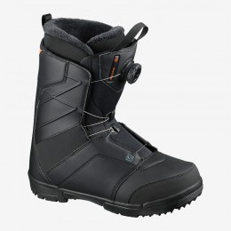 salomon Faction Boa Black orange 2021 Botas de snowboard