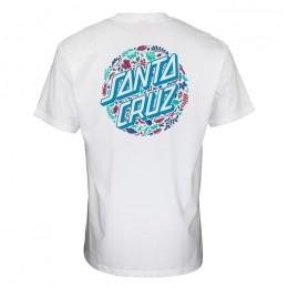 Santa Cruz Foliage Dot white 2022 camiseta