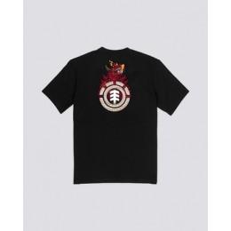 Element Florian flint black 2020 camiseta