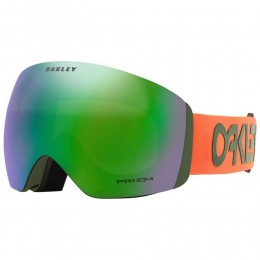 Oakley Flight Deck FP orange dark brush Prizm jade 2021 gafas de snowboard