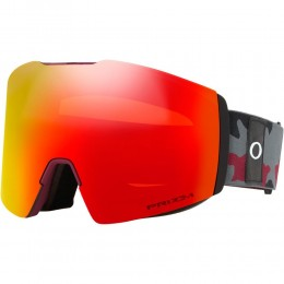Oakley Fall Line XL dark grey grenache camo prizm torch 2021 gafas de snowboard