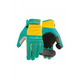 Miller freeride turquoise guantes