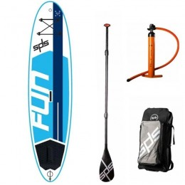 "SPS Hinchable Fun 10´5"" x 32""x 6"" pack completo paddle surf"