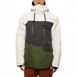 686 Geo insulated birch wash colorblock 2021 chaqueta de snowboard