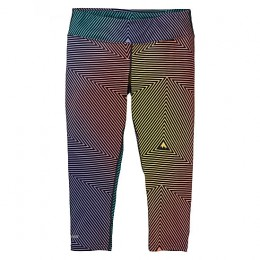 Burton midweight capri gradient spun out 2020 pantalón térmico de snowboard de mujer
