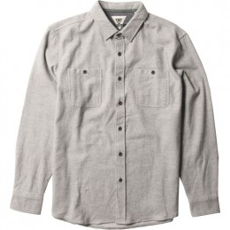 Vissla Shaver grey heather 2022 camisa