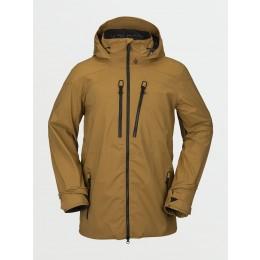 Volcom Guch stretch gore-tex burnt khaki 2021 chaqueta de snowboard