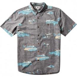 Vissla Waikikooks black 2021 camisa