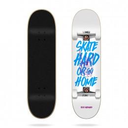 """Tricks Hard 8"""" Skateboard completo"""