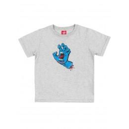 Santa Cruz Screaming hand grey 2021 camiseta de niño