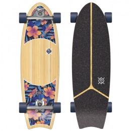 Flying wheels Kauai Hibiscus 31'' Surfskate completo