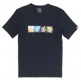 Element Horizontal seasons black 2020 camiseta