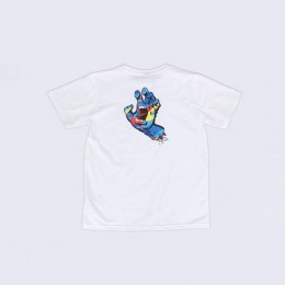 Santa Cruz Primary Hand white 2021 camiseta de niño