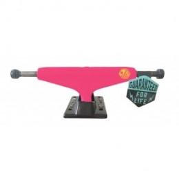 "Industrial White Black 5,25"" pink ejes skate (PACK 2)"