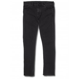 volcom 2x4 denim ink black 2018 pantalón