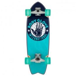 "Body Glove International 9,5"" surfskate completo"