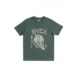 Rvca Trouble in Paradize balsam green 2021 camiseta
