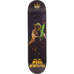 "Jart Weed Nation Yoda 8"" tabla de skateboard"