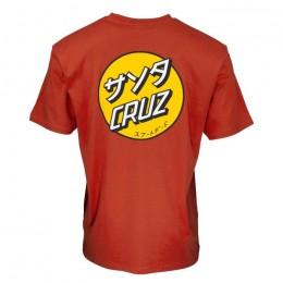 Santa Cruz Mixed Up Dot ketchup 2022 camiseta