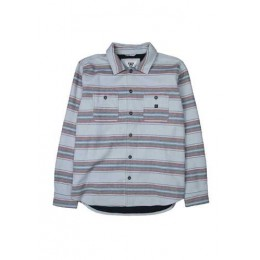 Vissla Horizon khaki heather 2022 sobre camisa