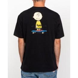 Element Peanuts Kruzer black 2021 camiseta