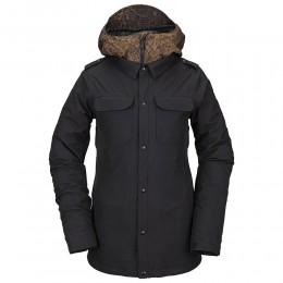 Volcom Kuma black 2021 chaqueta de snowboard de mujer