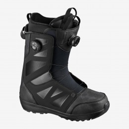 Salomon Launch Boa SJ Black 2021 Botas de snowboard